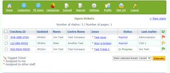 Open tickets