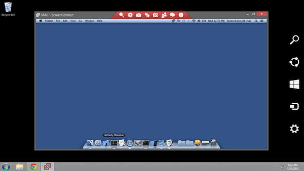 Mac view