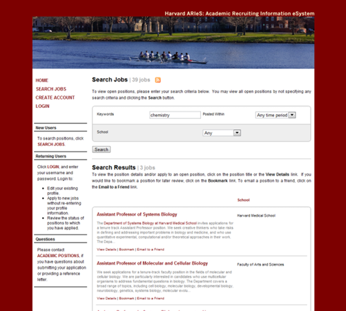 Example of a Branded Customer Career Site