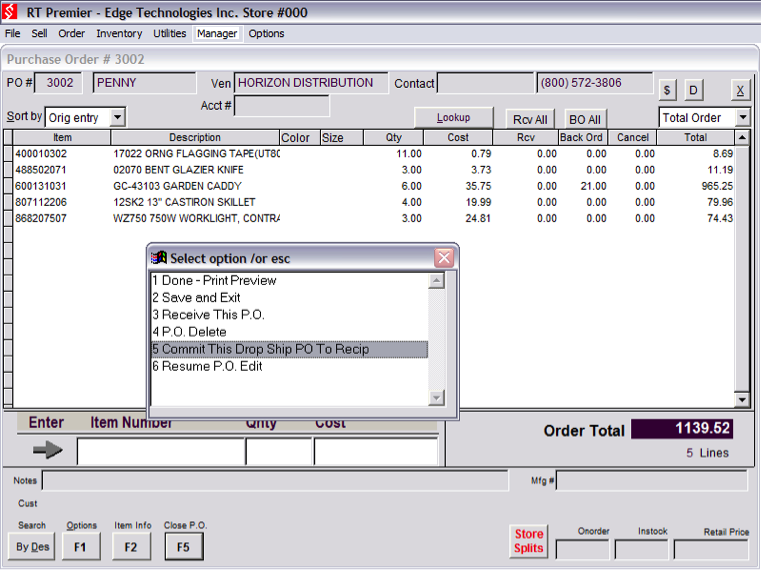 Purchase Orders and Purchasing Management