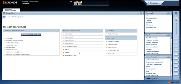 Kronos Workforce Central Software - Reviews & Pricing