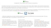 1CRM - CRM QuickBooks integration