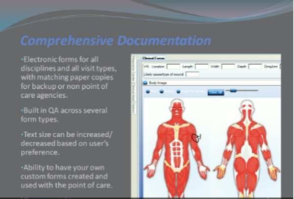 HealthWare patient documentation