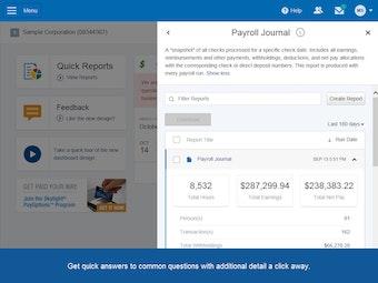 Payroll journal