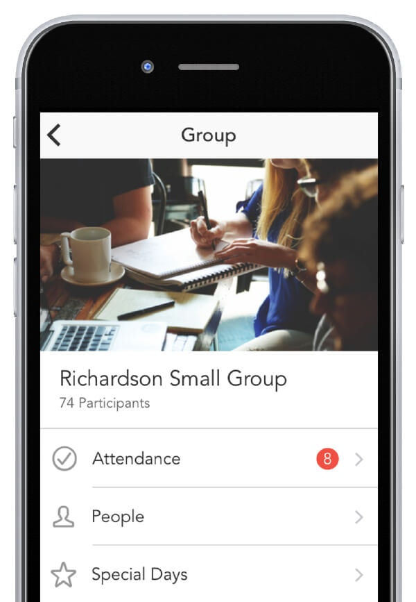 Groups iPhone app