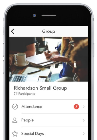 Groups iPhone app