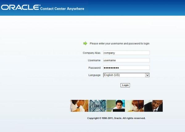 Agent login portal