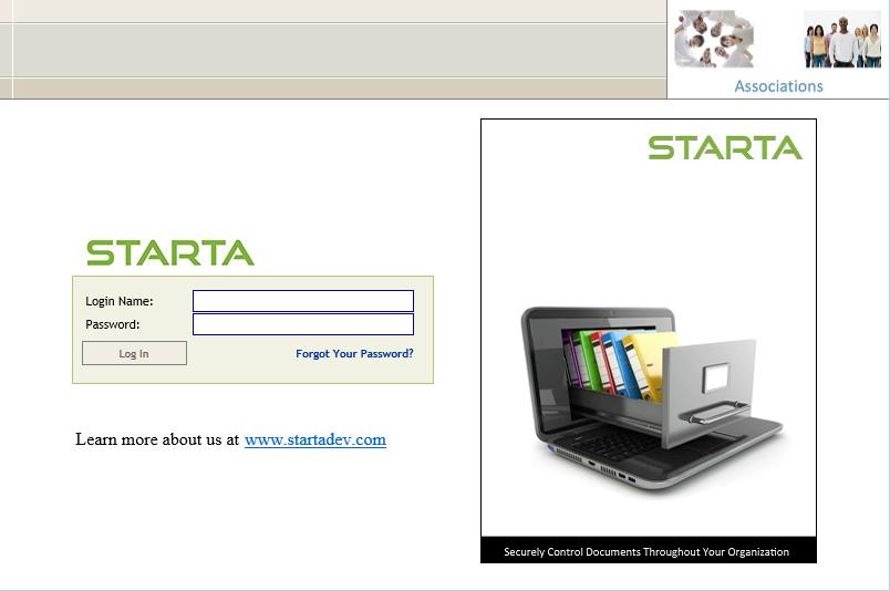 User login portal