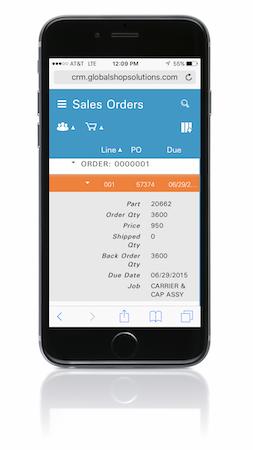 Mobile sales order
