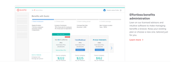 Gusto Software 2019 Reviews Pricing Amp Demo