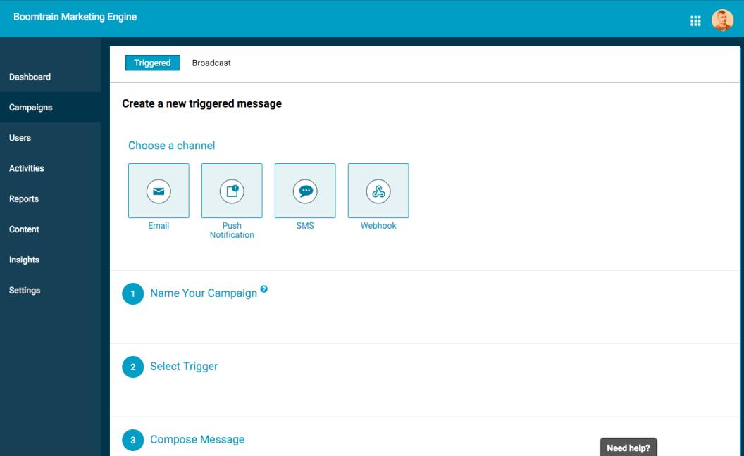 Multichannel messaging