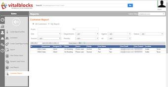 Customer report