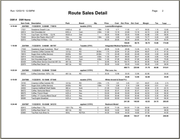 EIC Software - Route sales report