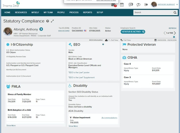 ADP Workforce Now -Manage candidate profiles