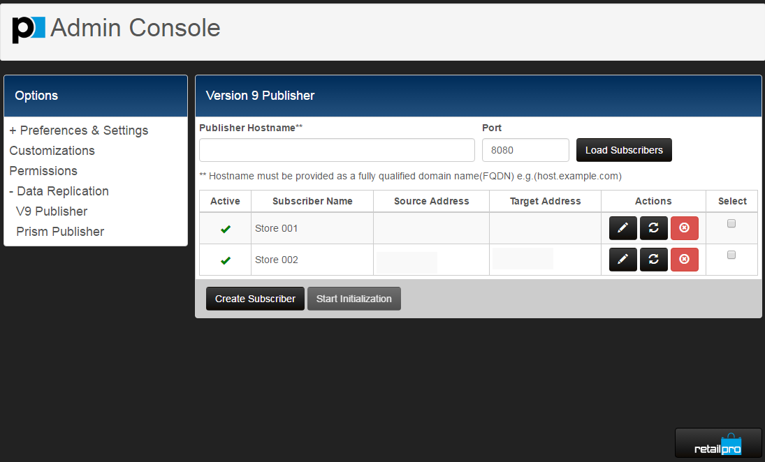 Configure administrative settings