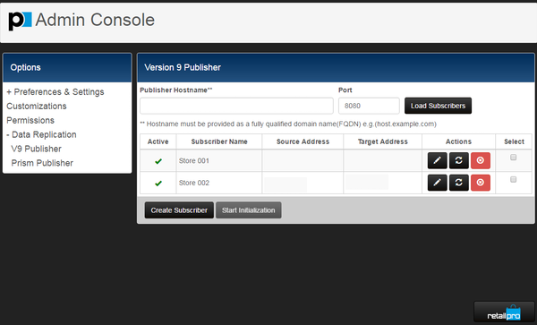 Configure administrative settings