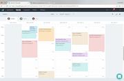 Setmore - Admin calendar