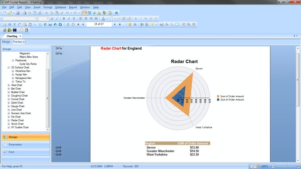 SAP Crystal Reports Software - 2019 Reviews, Pricing & Demo