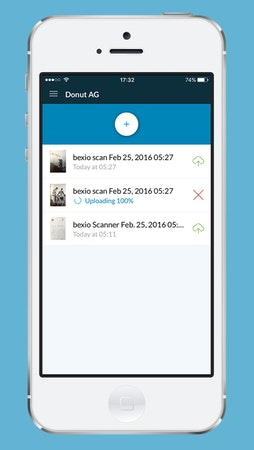 Document scanning app