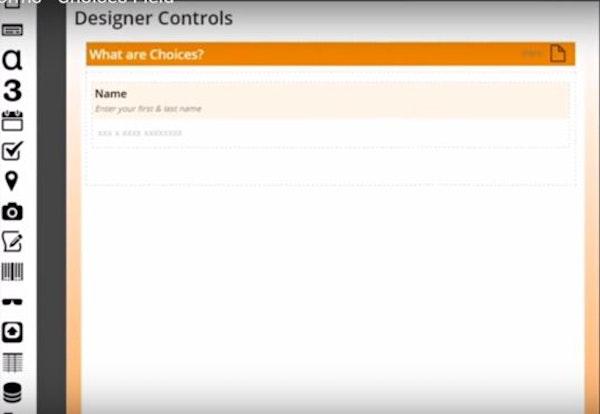 Form designing