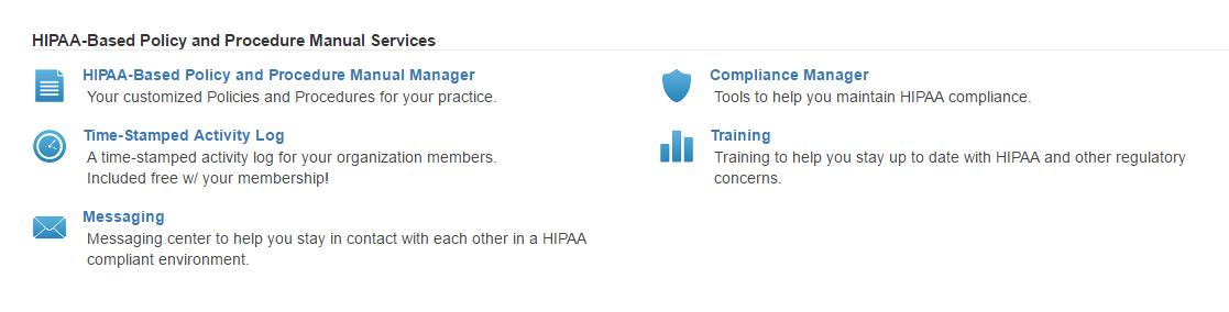 HIPAA-based manual