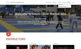 Custom homepage