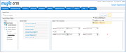 Maple CRM - Generate reports