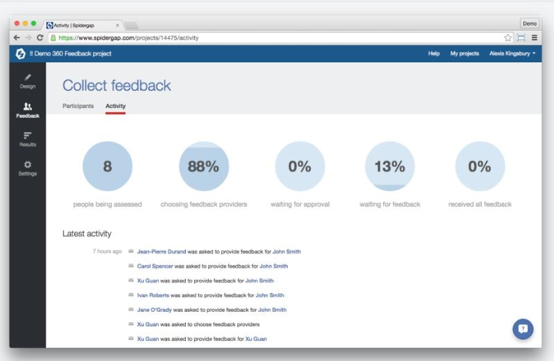 Collect feedback