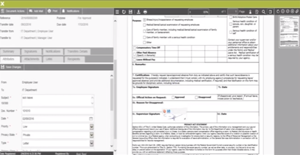 Forms management