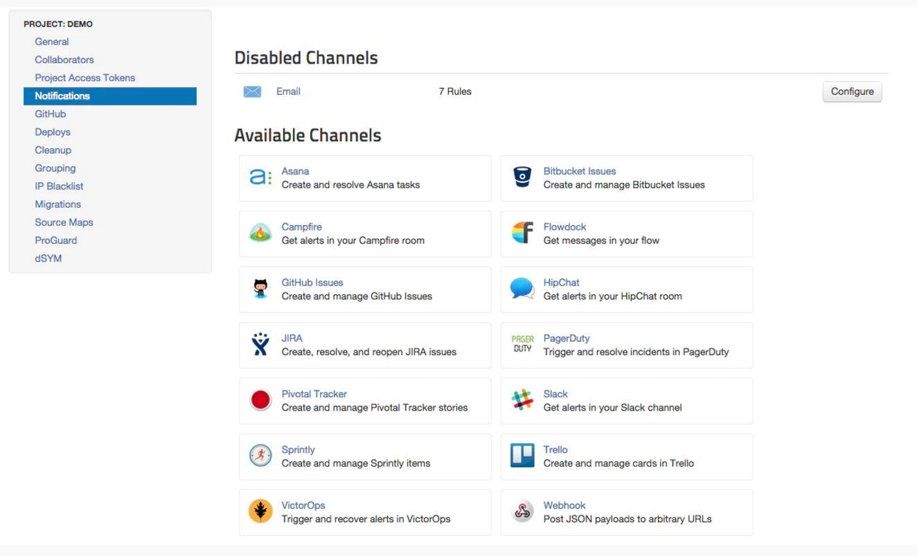 View disabled channels