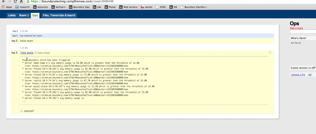 Configure notifications