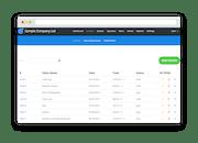 InvoiceBerry - List of invoices