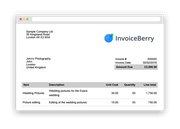 InvoiceBerry - Sample invoice