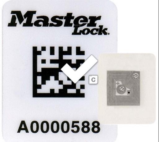 RFID code scanner