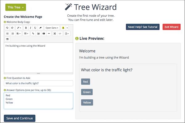 Scripting wizard