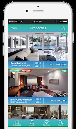 Customer mobile app