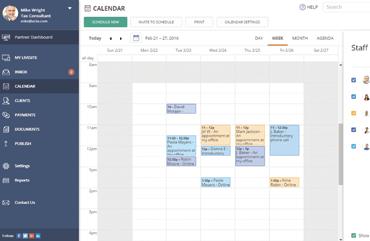 Calendar notification