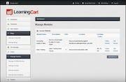 LearningCart - Manage modules