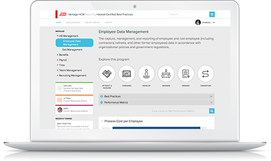 Employee data management
