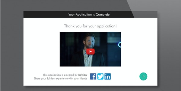 Completed application