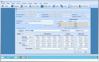 Payroll and invoicing