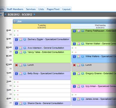Desktop schedule