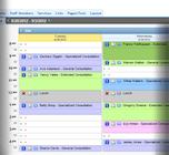 AppointmentPlus - Desktop schedule