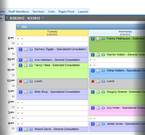 AppointmentPlus desktop schedule screenshot