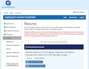 HireCentric - Employment application