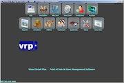 Visual Retail Plus - Dashboard interface