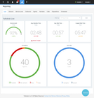 Talkdesk Enterprise Cloud Contact Center - Live real-time reporting