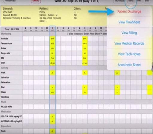 Patient schedule