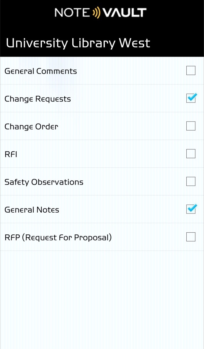 Note options