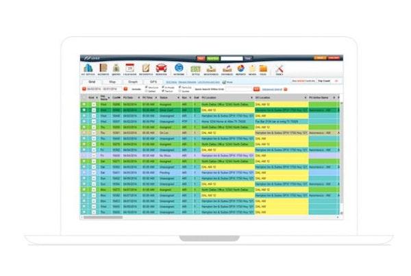 Customizable dispatch grid